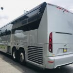MCI 56 passenger charter shuttle coach bus for sale - Diesel 5