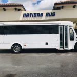 Freightliner S2c 24 passenger charter shuttle coach bus for sale - Diesel 2
