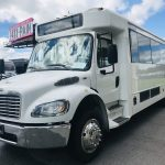 Freightliner S2c 24 passenger charter shuttle coach bus for sale - Diesel 7
