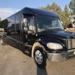 Freightliner M2 38 passenger charter shuttle coach bus for sale - Diesel 1