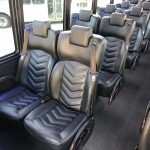 Freightliner M2 38 passenger charter shuttle coach bus for sale - Diesel 8