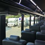 Freightliner M2 38 passenger charter shuttle coach bus for sale - Diesel 11