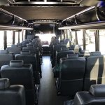 Freightliner M2 38 passenger charter shuttle coach bus for sale - Diesel 13