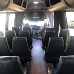 Ford E450 24 passenger charter shuttle coach bus for sale - Gas 12