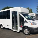 Ford Transit 350 HD 14 passenger charter shuttle coach bus for sale - Gas 1