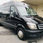 Mercedes 13 passenger charter shuttle coach bus for sale - Diesel 1