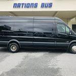 Mercedes 13 passenger charter shuttle coach bus for sale - Diesel 2