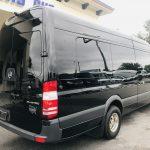 Mercedes 13 passenger charter shuttle coach bus for sale - Diesel 4