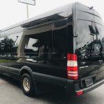 Mercedes 13 passenger charter shuttle coach bus for sale - Diesel 7