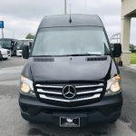 Mercedes 13 passenger charter shuttle coach bus for sale - Diesel 10