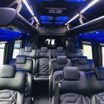 Mercedes 13 passenger charter shuttle coach bus for sale - Diesel 15