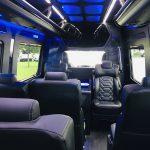 Mercedes 13 passenger charter shuttle coach bus for sale - Diesel 20