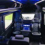 Mercedes 13 passenger charter shuttle coach bus for sale - Diesel 21