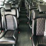 Freightliner 37 passenger charter shuttle coach bus for sale - Diesel 10