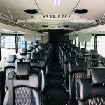Freightliner 37 passenger charter shuttle coach bus for sale - Diesel 11