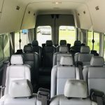 Ford 14 passenger charter shuttle coach bus for sale - Gas 10