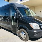 Mercedes 14 passenger charter shuttle coach bus for sale - Diesel 1