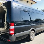 Mercedes 14 passenger charter shuttle coach bus for sale - Diesel 3