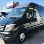 Mercedes 14 passenger charter shuttle coach bus for sale - Diesel 9