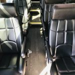 Mercedes 14 passenger charter shuttle coach bus for sale - Diesel 11