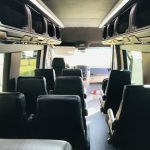 Mercedes 14 passenger charter shuttle coach bus for sale - Diesel 15