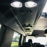 Mercedes 14 passenger charter shuttle coach bus for sale - Diesel 17