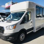 Ford Transit 350 HD 14 passenger charter shuttle coach bus for sale - Gas 8