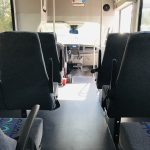 Ford Transit 350 HD 14 passenger charter shuttle coach bus for sale - Gas 11