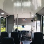 Ford Transit 350 HD 14 passenger charter shuttle coach bus for sale - Gas 12