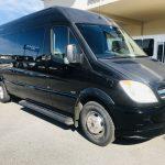 Mercedes 14 passenger charter shuttle coach bus for sale - Diesel 1