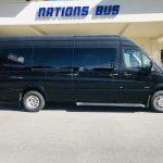 Mercedes 14 passenger charter shuttle coach bus for sale - Diesel 2