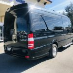 Mercedes 14 passenger charter shuttle coach bus for sale - Diesel 3