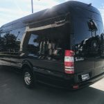 Mercedes 14 passenger charter shuttle coach bus for sale - Diesel 6