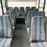 Ford Transit 350 HD 14 passenger charter shuttle coach bus for sale - Gas 14