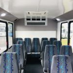 Ford Transit 350 HD 14 passenger charter shuttle coach bus for sale - Gas 15
