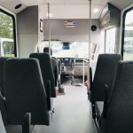 Ford Transit 350 HD 14 passenger charter shuttle coach bus for sale - Gas 16