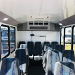 Ford Transit 350 HD 14 passenger charter shuttle coach bus for sale - Gas 17