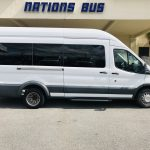 Ford 14 passenger charter shuttle coach bus for sale - Gas 2