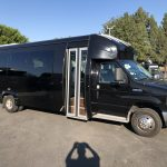 Ford 26 passenger charter shuttle coach bus for sale - Gas 1