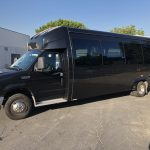 Ford 26 passenger charter shuttle coach bus for sale - Gas 6