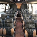 Ford 26 passenger charter shuttle coach bus for sale - Gas 8