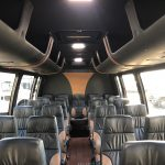 Ford 26 passenger charter shuttle coach bus for sale - Gas 9