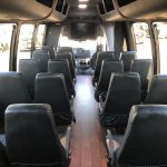 Ford 26 passenger charter shuttle coach bus for sale - Gas 13