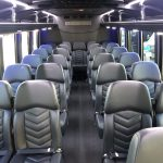 Ford F550 27 passenger charter shuttle coach bus for sale - Gas 8