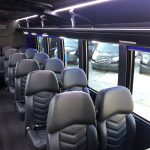 Ford F550 27 passenger charter shuttle coach bus for sale - Gas 9