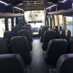 Ford F550 27 passenger charter shuttle coach bus for sale - Gas 10