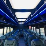 Freightliner 40 passenger charter shuttle coach bus for sale - Diesel 8