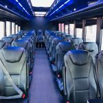 Freightliner 40 passenger charter shuttle coach bus for sale - Diesel 7