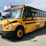 Freightliner 71 passenger charter shuttle coach bus for sale - Diesel 7