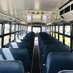 Freightliner 71 passenger charter shuttle coach bus for sale - Diesel 10